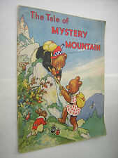 THE TALE OF MYSTERY MOUNTAIN. CIRCA 1930's CHILDRENS ILLUSTRATED STORY