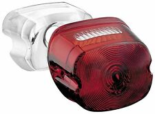 Kuryakyn Laydown Taillight Lens Kit with License Plate Window  Red