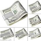 1PC Stainless Steel Slim Pocket Cash Money Clip Holder Glaze