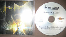 Rare Promo CD Tri State Corner - Sooner or Later incl. Videoclip 3 AXXIS