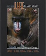 Life, Vol. II: Evolution, Diversity and Ecology: (Chs. 1, 21-33, 52-57)