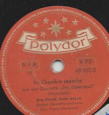 Operette 1953 : Rita Streich + Peter Anders Peter Witsch : Der Opernball