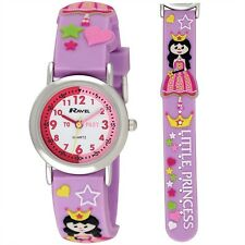 Ravel Time Teacher Princess Design Girls Kids Watch Purple R1513.37