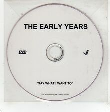 (FV616) The Early Years, Say What I Want To - DJ DVD