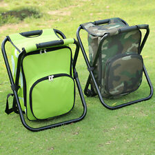 36x31x44CM  Foldable Cooler Bag Chair Backpack Fishing Stool Chair for Fishing