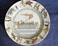 "9.75"" ROYAL DOULTON BAYEUX TAPESTRY ANTIQUE PLATES"