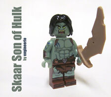 LEGO Custom -- Skaar Son of Hulk -- Marvel Super heroes mini figure