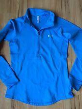 Under Armour Cold Gear Half Zip FITTED Small Blue NWOT 3 day special price! S