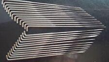 25 Count Spiral/ Twisted Felting Needles-40 Gauge-2 Barbs per 3 sides-Fine Gauge