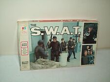 the S.W.A.T. game 1976 Milton Bradley based on the TV show