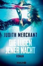 Merchant, Judith - Die Lügen jener Nacht: Roman