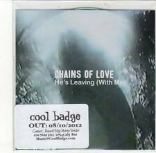 (DK720) Chains Of Love, He's Leaving (With Me) - 2012 DJ CD