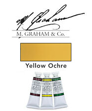 M Graham Watercolor 15ml Tube Yellow Ochre 33-200