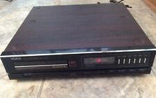 Vintage Yorx DAD-600 Compact Disc Player Tested W/Manual
