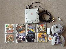 Sega Dreamcast Console Bundle, 2 controllers, 7 games, great condition! Tested!