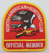 North American Hunting Club Eagel Official Member Vintage U Niform Patch