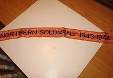 rst111 WW 2 US Army Flag Streamer Northern Solomons 1943 - 1944