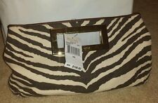 NWT Michael Kors Berkley Tiger clutch retail $198