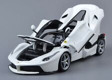 Bburago 1:18 Ferrari Laferrari Diecast Model Sports Car Vehicle New In Box White