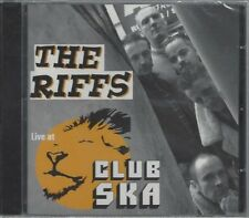 THE RIFFS - LIVE AT CLUB SKA - (sealed cd) - MOON CD 110