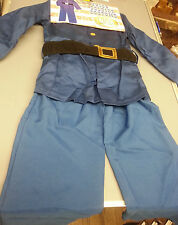 CHILDREN CIVIL WAR UNION SOLDIER COSTUME NORTH US UNIFORM SIZE MEDIUM