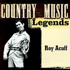Country Music Legends Acuff, Roy MUSIC CD