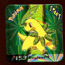 STAKS MAGNET AIMANT POKEMON N° 153 BAYLEEF HOLO E