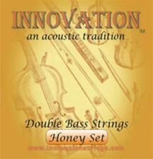 Innovation Honey 3/4 Upright Double Bass Strings 140H Set, Jazz / Orchestral