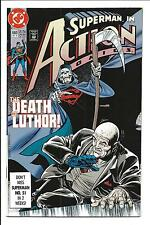 ACTION COMICS # 660 (DEATH OF LUTHER, DEC 1990), NM-