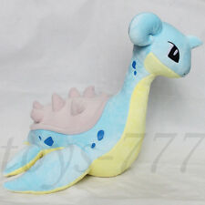 "Pokemon Lapras 18"" big Stuffed Animal Nintendo Loch Ness Plush Toy Dragon Teddy"