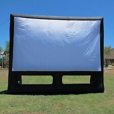 New Infla8 brand 20X12 foot Inflatable Movie Screen (front & rear projection)