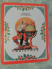 NORMAN ROCKWELL CHRISTMAS LIMITED EDITION  TIN 1995 ,EVENING POST 12/4/1926.