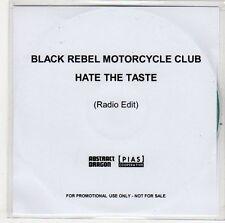 (ER193) Black Rebel Motorcycle Club, Hate The Taste - DJ CD