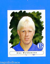 FUSSBALL BUNDESLIGA 1995-96 Figurina Sticker n. 190 - WEIDEMANN- SCHALKE 04 -New