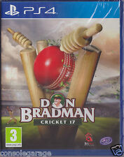 BRAND NEW SEALED DON BRADMAN CRICKET 17 DBC 17 PS4 PLAYSTATION 4 GAME