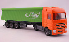 Siku 1806 Mercedes Actros Truck with Fliegl Tipping Trailer Diecast Scale 1:87