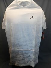 Nike Jordan Fly High T-Shirt Short-Sleeve Crew Neck White Mens Size L NEW!