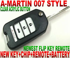 007 STYLE ALin1 FLIP KEY REMOTE FOR MAZDA 6 4DOORS TRANSPONDER CHIP TRANSMITTER