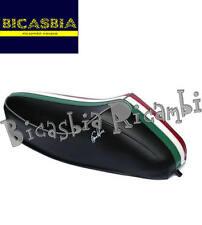 9219 - SELLA SELLONE A GOBBA BIANCA FASCIA TRICOLORE VESPA 50 SPECIAL R L N