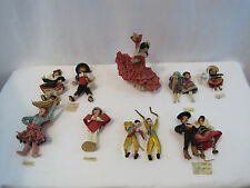 12PC Spanish Ethnic Geography Doll Set Various Customs Teacher Class (OAYA323)