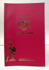 1987-88 USC SOUTHERN CALIFORNIA BASKETBALL Press book media guide