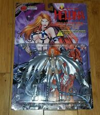 Hellina Platinum Varient Action Figure Skybolt Lightning Comics Free Shipping