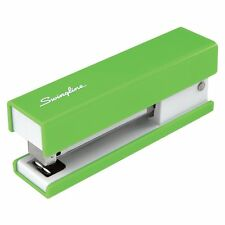 Swingline Runway Fashion 20-Sheet Capacity Half Strip Stapler, Solid Color Green