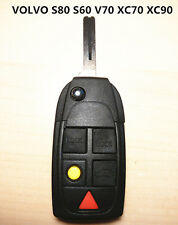VOLVO 5 BUTTON REMOTE KEY SHELL CASE for S80 S60 V70 XC70 XC90
