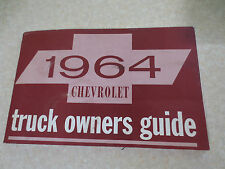 1964 Chevrolet truck owner's manual - Chev