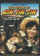 THE RETURN OF RIN TIN TIN (DVD, 2004, Slim Case, Robert Blake) - NEW