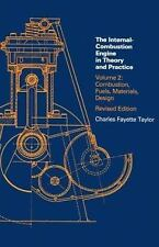 The Internal Combustion Engine in Theory and Practice: Vol. 1 - 2nd Edition, Rev
