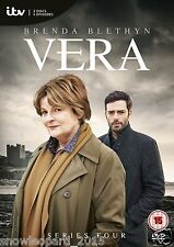 VERA COMPLETE ITV SERIES 4 DVD All Episodes Forth Season New Sealed UK R2 Rel.