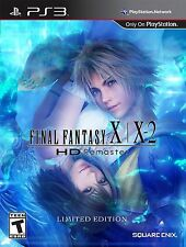 PS3 Final Fantasy X/X-2 HD Remaster (Sony PlayStation 3, 2014)