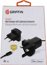 GRIFFIN POWER BLOCK WALL CHARGER WITH LIGHTNING CONNECTOR FOR iPad 5 Air iPad 4